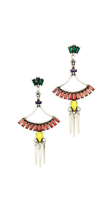 DANNIJO Cerise Earrings