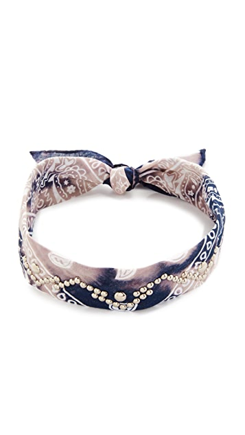 DANNIJO Raiden Bandana Choker Necklace
