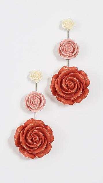DANNIJO Beck Earrings - Pink