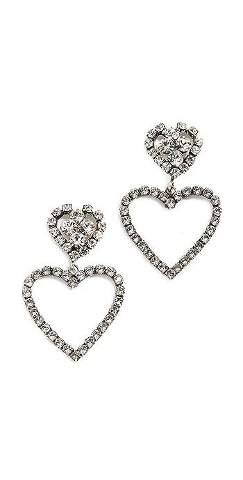 DANNIJO Lola Earrings - Silver
