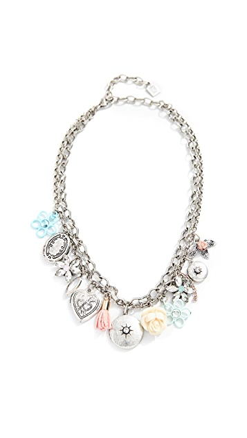 DANNIJO Amabella Charm Necklace