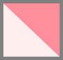 粉色/白色条纹