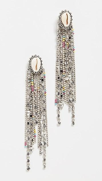 DANNIJO Carosi Earrings - Oxidized Silver