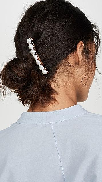 DANNIJO Гребень для волос Jessa с искусственным жемчугом