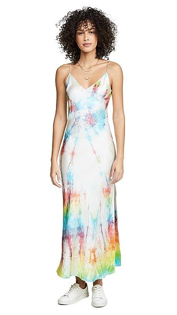 DANNIJO Tie-Dye Slip Dress