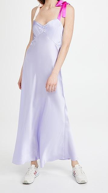 DANNIJO 蝴蝶结肩带连衣裙
