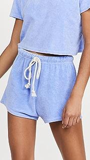 DANNIJO Terry Cloth Shorts