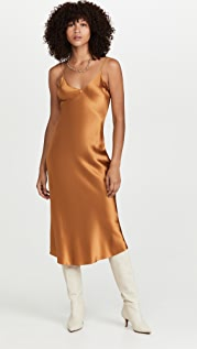DANNIJO Midi Slip Dress