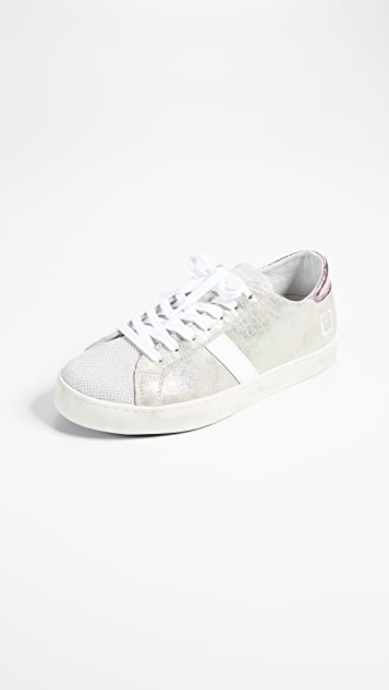 D.A.T.E. Hill Stardust Sneakers