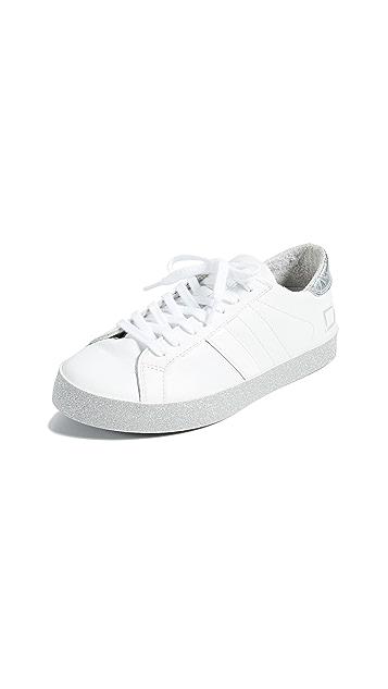 D.A.T.E. Hill Print Sneakers