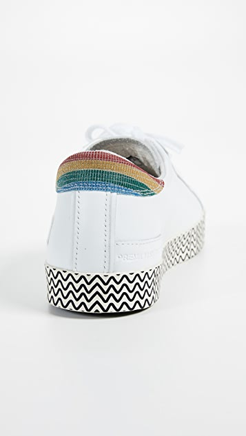 D.A.T.E. Hill Print Sneakers