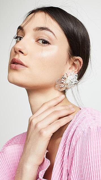 Diana Broussard Flower Earrings