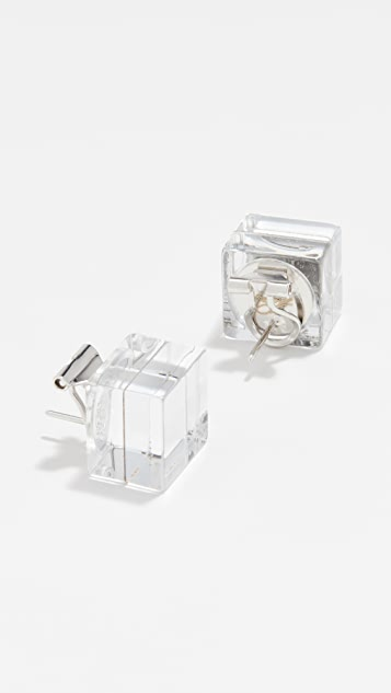 Diana Broussard Specchio Cube Earrings
