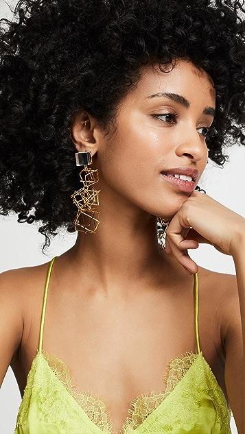 Diana Broussard Multi Spacial Earrings
