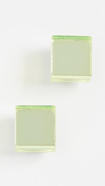 Diana Broussard Серьги Specchio Cube