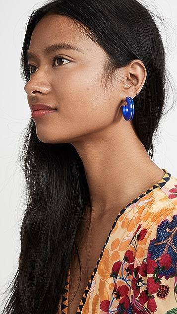 Diana Broussard Lou 圈式耳环