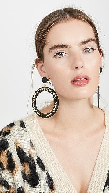 Diana Broussard Moins Que Demain Earrings