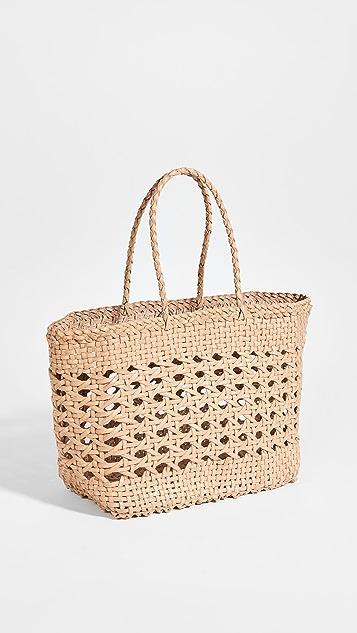 DRAGON DIFFUSION Cannage Mini Basket Bag