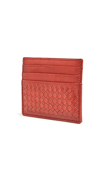 DRAGON DIFFUSION Interlaced Card Holder