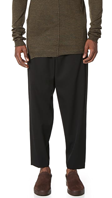 Damir Doma Picasso Gabardine Trousers