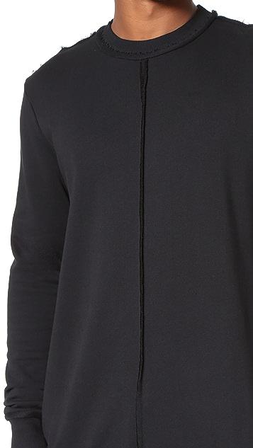 Damir Doma Walken Heavy Jersey Sweatshirt