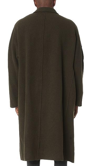 Damir Doma Copernico Heavy Felted Wool Coat