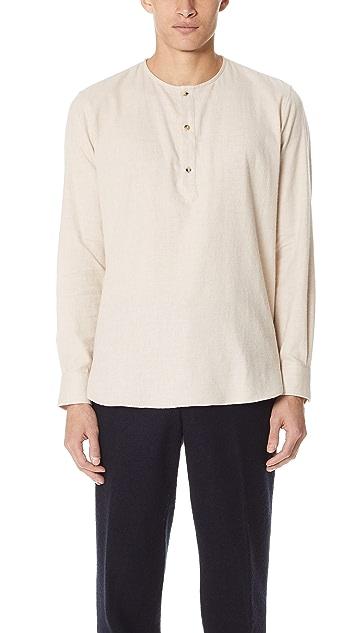 De Bonne Facture Tunisian Popover Shirt