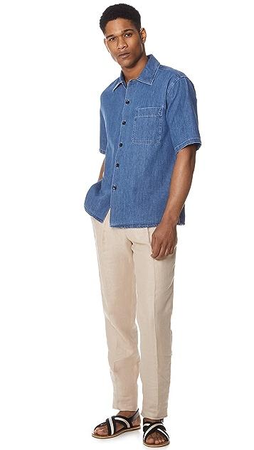 De Bonne Facture One Pleat Trousers