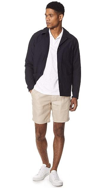De Bonne Facture One Pleat Bermuda Shorts