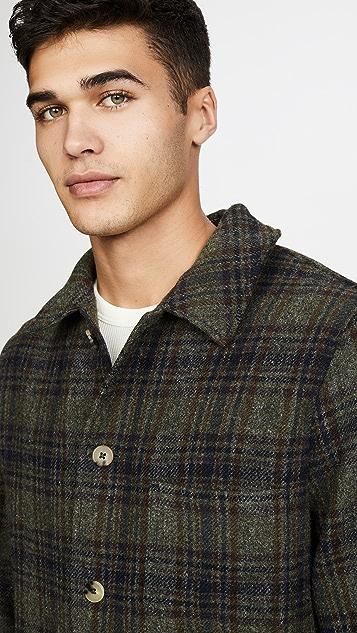 De Bonne Facture Italian Brushed Wool Work Jacket