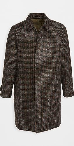 De Bonne Facture - Harris Tweed Wool Parisian Raincoat