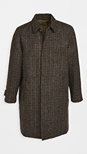 De Bonne Facture Harris Tweed Wool Parisian Raincoat