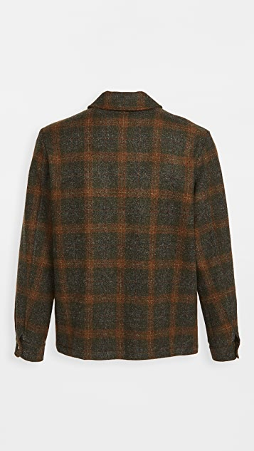 De Bonne Facture Italian Washed Wool Work Jacket