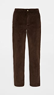 De Bonne Facture 8 Wale Corduroy Easy Trousers