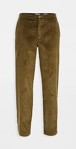 De Bonne Facture - 8 Wale Corduroy Easy Trousers