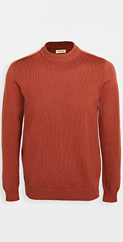 De Bonne Facture - Merino Wool Mock Neck Sweater