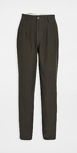 De Bonne Facture - Two Pleat Trousers