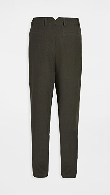 De Bonne Facture Two Pleat Trousers