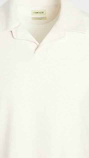 De Bonne Facture Short Sleeve Polo