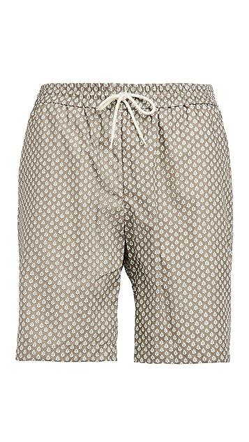 De Bonne Facture Linen Shorts
