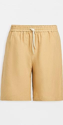 De Bonne Facture - Linen Shorts