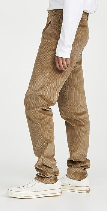 De Bonne Facture Pleated Pants