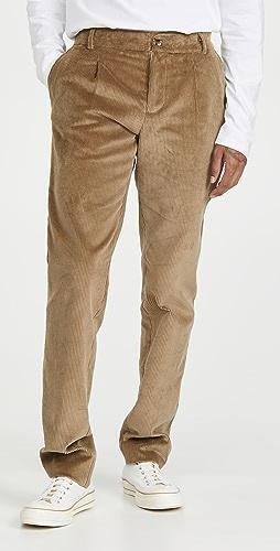 De Bonne Facture - Pleated Pants
