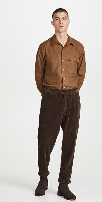 De Bonne Facture Flannel Shirt