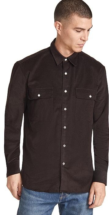 De Bonne Facture Corduroy Shirt