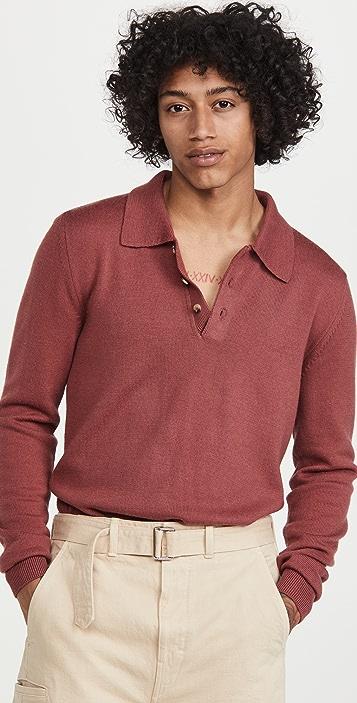 De Bonne Facture Henley Sweater
