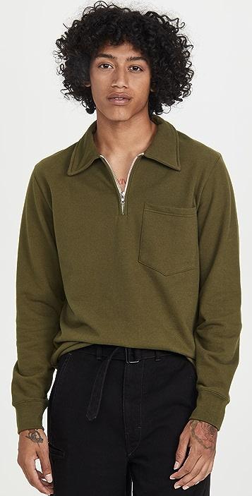 De Bonne Facture Collar Sweatshirt