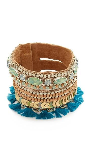 Deepa Gurnani Deepa by Deepa Gurnani Ova Bracelet
