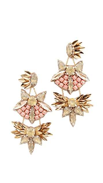 Deepa Gurnani Deepa By Deepa Gurnani Queenie Earrings