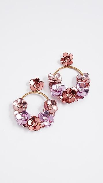 Deepa Gurnani Roe Earrings - Gold/Multi